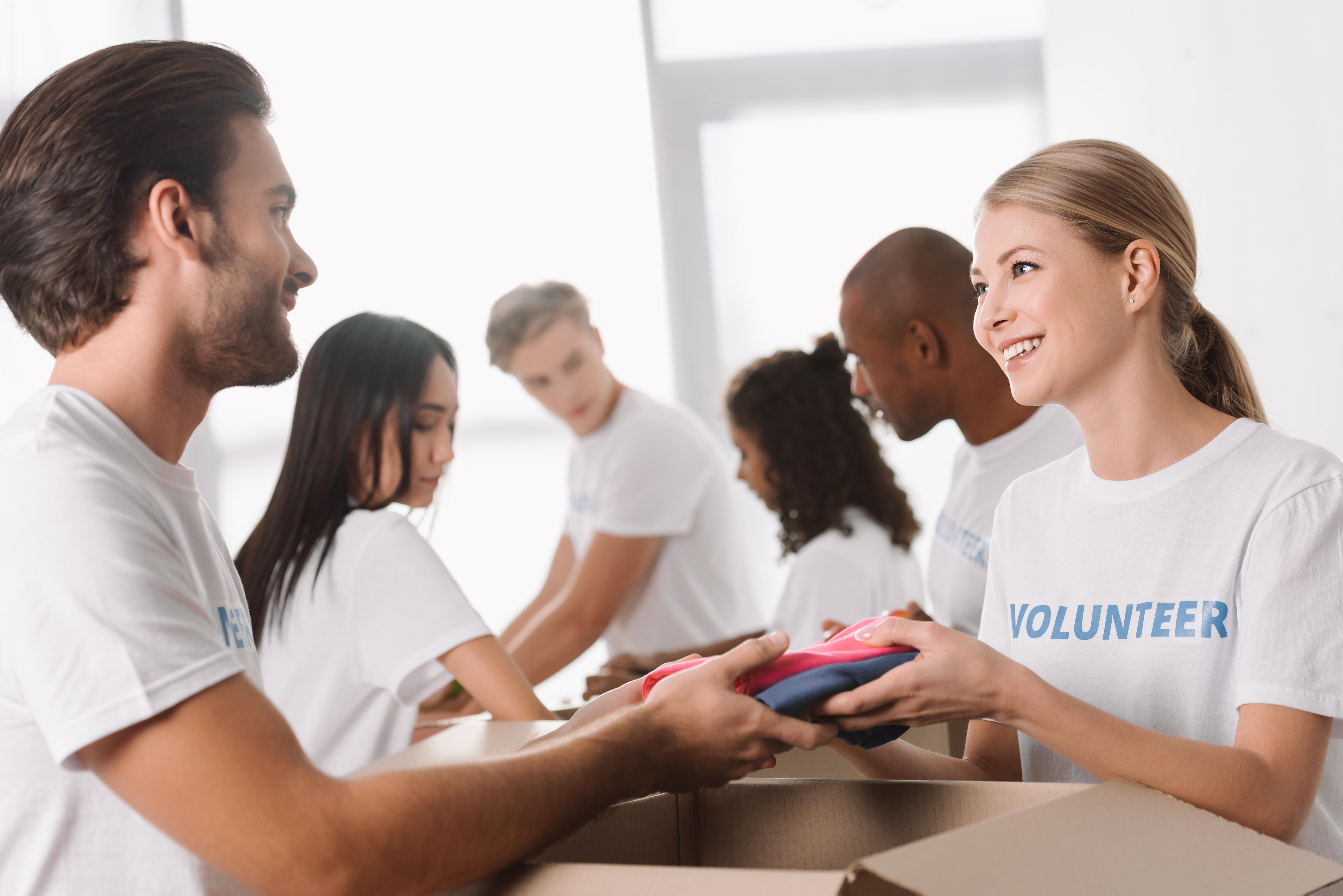 volunteer image - community services